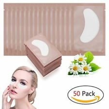 50 Pairs Eyelash Extensions Pads Under Eye Lash Gel Lint Free Patches Pad