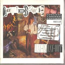 "DAVID BOWIE ""Day-In Day-Out"" rote 7"" Vinyl Single Box Ltd numbered sealed"