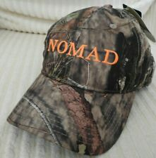 Nomad Mossy Oak Break Up Country Camo Stretch Cap Hunting Hat M/L New