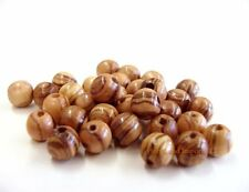 1400 ~TOP QUALITY Olive Wood Round Beads Polished Rosary Jewelry Bethlehem ~ 6mm