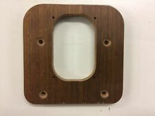 VERY RARE VINTAGE NOS THORENS REFERENCE SME DRILL OUT SMALL WENGE ARMBOARD