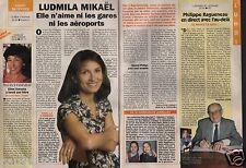 Coupure de presse Clipping 1996 Ludmila Mikaël  (1 page 1/3)