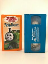 Thomas The Tank Engine & Friends - Races, Rescues, & Runaways VHS  blue tape
