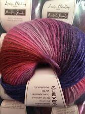 Louisa Harding Amitola Grande shade 529 Purple Rain - 100g balls