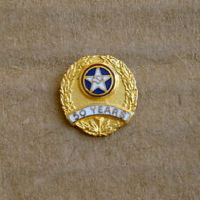 CSA Red, White & Blue Enameled 50 YEARS PIN with Star
