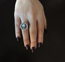 Anello in argento 925 cammeo CZ sardonico ring cameo Made in Italy