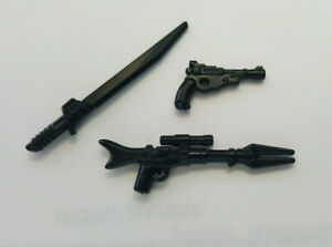 Brickarms Mandalorian Blaster Weapons Pack / Amban Rifle and Dark Saber