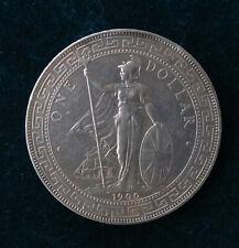 CHINA, Hong Kong, Great Britain Trade Dollar 1900 Queen Victoria Original Silber
