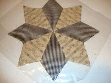 Country house SARAH'S star table mat / nice table /doilie