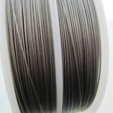 .38mm Tigertail Bead Wire Stainless Steel 7 Strand Nylon Coated Steel 100 Meters