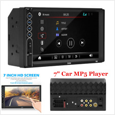 """New listing 7"""" 12V 2Din Touch Screen Car Mp5 Player Bluetooth Stereo Fm Radio Usb/Tf Aux In"""