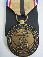 U.S. United States State of Texas National Gourd Desert Storm Campaign Medal