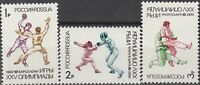 Stamp Russia USSR SC 6084-6 1992 Olympics Summer MNH