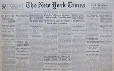 JOHN DILLINGER GANG BAIL SET $400000 - OUTLAWS SHOUT DEFIANCE. 1-JANUARY 27 1934