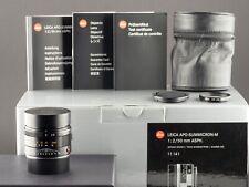 Leica APO-M 50mm 2.0 Summicron schwarz 11141 NEU FOTO-GÖRLITZ Ankauf+Verkauf