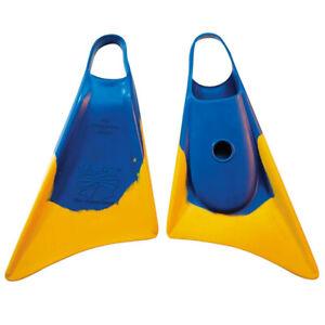 Churchill Makapuu Swim Fins - Blue / Yellow