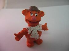 Nice Collectible Vintage 1977 HA HA HA FOZZY BEAR The Muppets w/ Bow Tie & Hat
