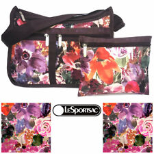 LeSportsac Harmony Floral Deluxe Everyday Crossbody Bag Free Ship NWT 7507 D985