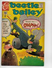 BEETLE BAILEY 68 - VG+ 4.5 - SARGE (1969)