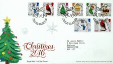 GREAT BRITAIN 2016 CHRISTMAS FIRST DAY COVER LOT 1910C