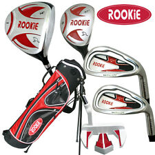 NEW JUNIOR GOLF SET 6 PCE for KIDS 10yrs plus WITH HYBRID - CHILDRENS GOLF CLUBS
