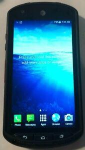 Kyocera DuraForce E6560 16GB (AT&T) Black Fast Ship Very Good Used