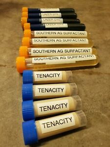 "TENACITY PRO HERBICIDE COMPLETE ""8"" GALLON KIT!! w/ Dye & Surfactant 8000SQFT"