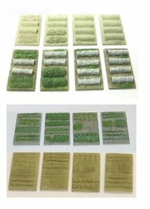 N Scale Allotment or Gardens (NS5 & NS1)