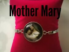 Code 309 Mother Mary infused Bracelet Holy Communion, Confirmation Flower Girl
