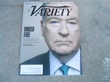 APRIL 11 2017 VARIETY movie magazine BILL O'REILLY - UNDER FIRE
