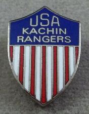 Inde - Burma Kachin Rangers Patch Style Unit Écusson Insignes - Clutchback