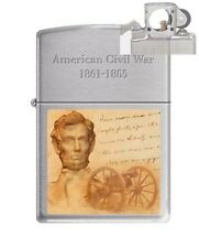 Zippo 200 Civil War 1861-1865 Lighter with PIPE INSERT PL
