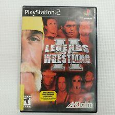 Legends of Wrestling II (Sony PlayStation 2 PS2) Video Game 2002 Hulk Hogan