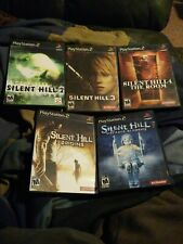 Silent Hill  2 3 4 Origins Shattered Memories (Playstation 2, PS2) collection