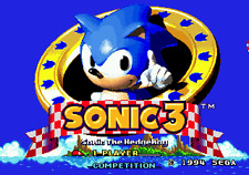 Sonic The Hedgehog 3 - Sega Genesis Game