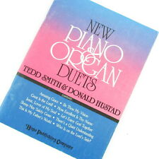 New Piano and Organ Duets Tedd Smith Don Hustad Religious Paperback Music Book
