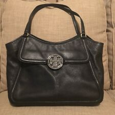 Tory Burch Amanda Small Easy Tote In Black *Excellent Condition*