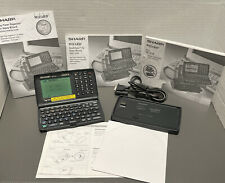 Electronic Personal Organizer Sharp Wizard Oz-570 256Kb w/Dock,Cd, Manuals Works