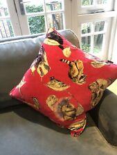 House Of Hackney Pink Velvet Cushion - 45x45cm