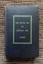 RARE 1st Edition VINTAGE 1930 The Bitter Tea of General Yen, Grace Zaring Stone