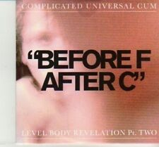 (DJ67) Before F After C, Complicated Universal Cum - 2012 DJ CD