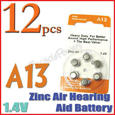 12 A13 13 PR48 7000ZD 1.4V Zinc Air Hearing Aid Battery