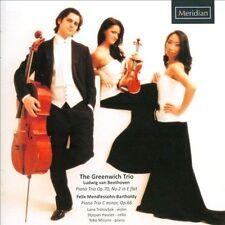 Beethoven/Mendelssohn: Piano Trio in E-Flat/Piano Trio, New Music
