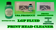 Unblock Print Head Nozzles for Epson. Printer Cleaning Kit Cleaner Flush 115ml
