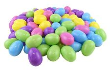 """Easter Eggs  Plastic Bright Large 3"""" Egg Assortment (72 pc) High Quality New"""