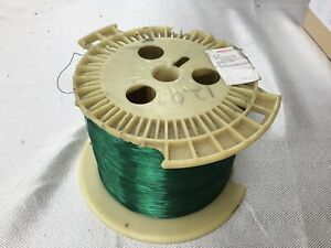 27 AWG Gauge 5 Lbs of Magnet Wire Green Soderon Enameled Copper Coil Winding