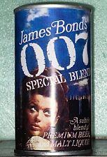 James Bond's 007 Malt Liquor, National Brewing Co. Baltimore, MD. Paper Label