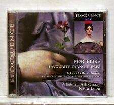 ASHKENAZY LUPU SCHIFF ROGÉ... favourite piano pieces DECCA CD NM