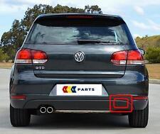 VW GOLF GTD vi 09-13 NUOVO ORIGINALE PARAURTI POSTERIORE TAPPO COPERTURA Gancio Di Traino 5k6807441d