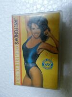 JANE FONDA COMPLETE WORKOUT RARE orig CASSETTE TAPE INDIA CLAMSHELL 1993